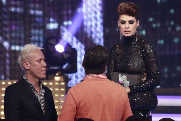 Galilea hablaba con Fernando y Alfonso Waithsman, su estilista.