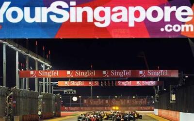 Y arrancó la acción: Fernando Alonso salió desde la 'pole position', seg...