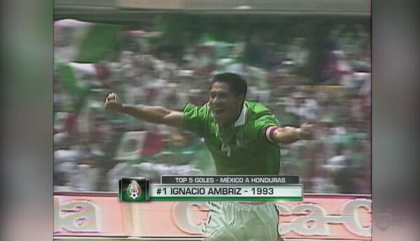 Top 5 de goles de México a Honduras