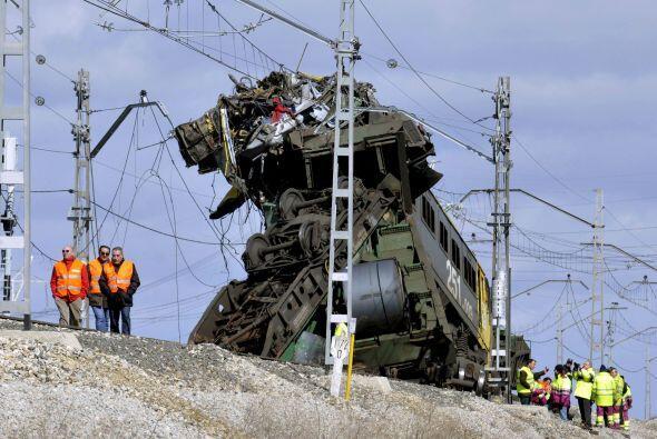 En el mismo año pero en la localidad de Arévalo, un tren de mercancías e...