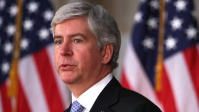 El gobernador Rick Snyder reiteró que Michigan necesita inmigrates, pero...