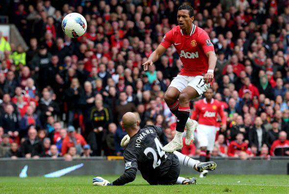 Ya con la victoria, el United no se conformó y seguía atacando.