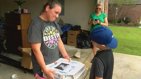 Cambió su regalo de cumpleaños por 363 pizzas para los afectados por las...