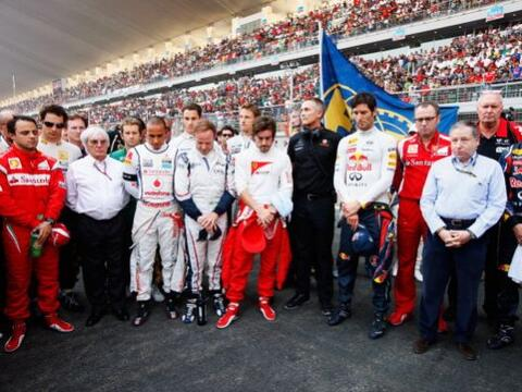 Vettel ganó este domingo el primer Gran Premio de India de F&oacu...