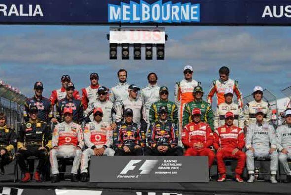 La temporada de Fórmula 1 2011 arrancó en Australia con el...