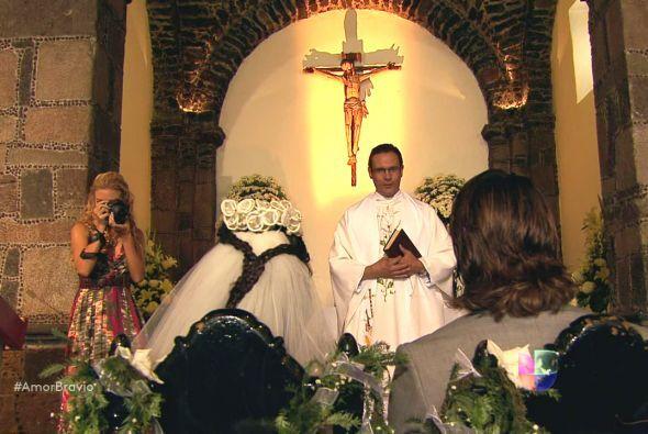 Pablo y Luzma consiguieron llegar hasta el altar sin ningún contratiempo...