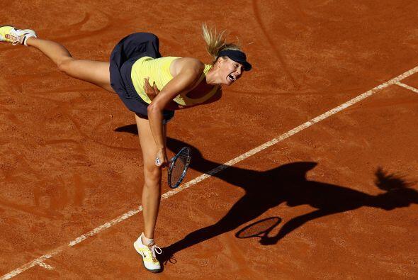 Jugó un partido perfecto y derrotó a Wozniacki.