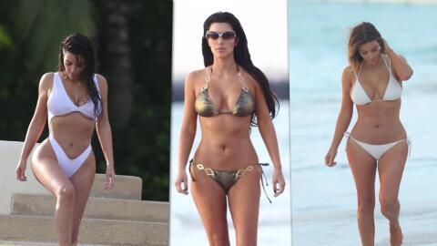 Top 10 looks de Kim Kardashian en bikini