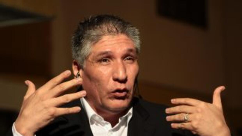 El ex rehén de las FARC Sigifredo López.