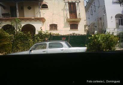 """Casa de Juan Pablo Roque en La Habana. El iba a """"aparecer"""" en Cuba como..."""