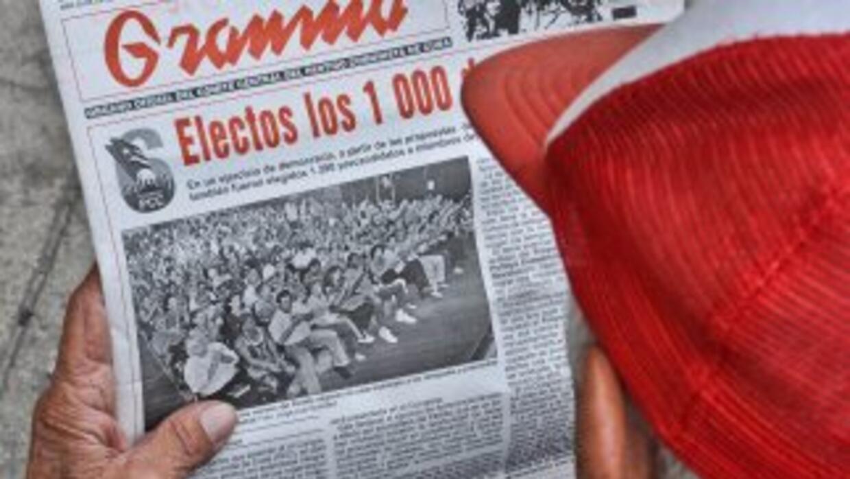 Granma, portavoz del Partido Comunista de Cuba (PCC, único)