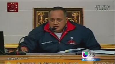 Diosdado Cabello sería líder de cártel de drogas en Venezuela
