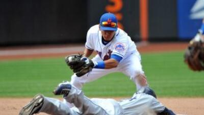 Cameron Maybinjugó una gran defensa para la victoria de los Mets.