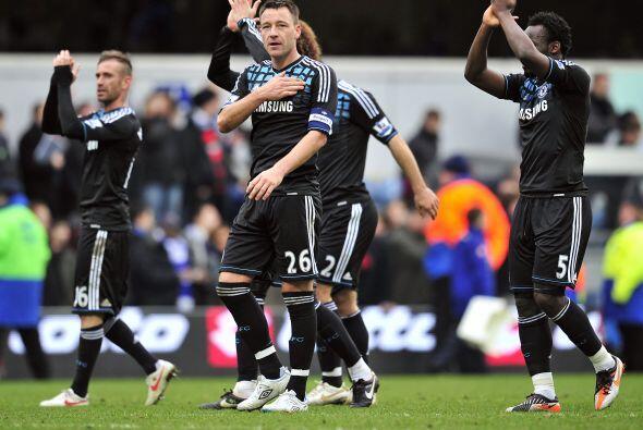 Chelsea festejó, sigue en la Copa y sueña con levantarla.