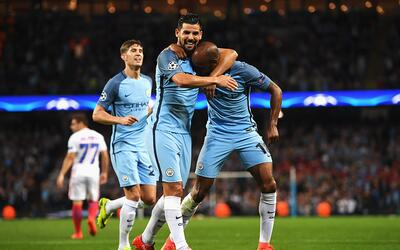 Manchester City venció 1-0 al Steaua