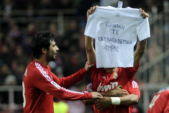 El argentino se lo dedicó a un familiar que falleció hace...