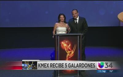 Univision 34 Los Angeles ganó 5 premios Emmys