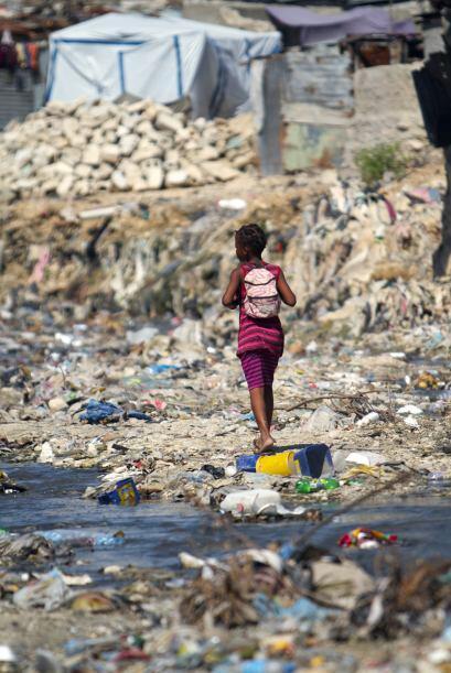 Haití, recordó Zamba, era el país menos desarrollad...