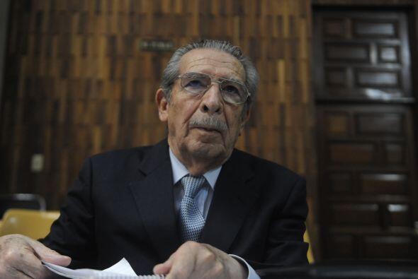 La Corte de Constitucionalidad anuló el juicio por genocidio contra el e...