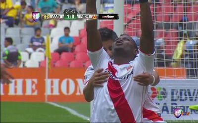 América vs Morelia: Duvier Riascos anotó el gol del empate 1-1 para Morelia
