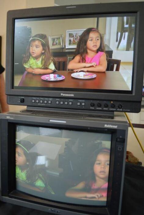 Como parte del programa, y para explicar la auto-regulación, las niñas s...