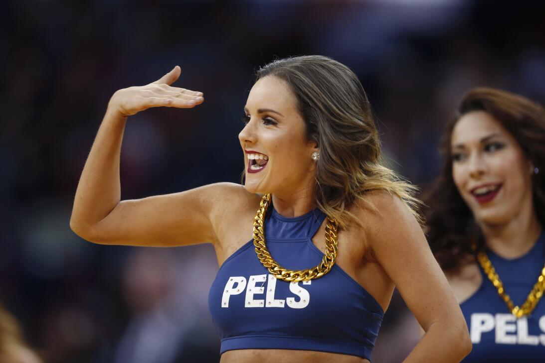 ¡Diosas de la NBA! Los 50 momentos sensuales de las porristas en 2017 AP...