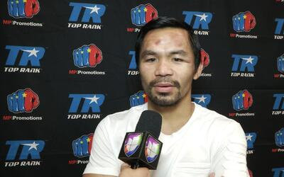 "Manny Pacquiao: ""Yo invité a Mayweather a mi pelea"""