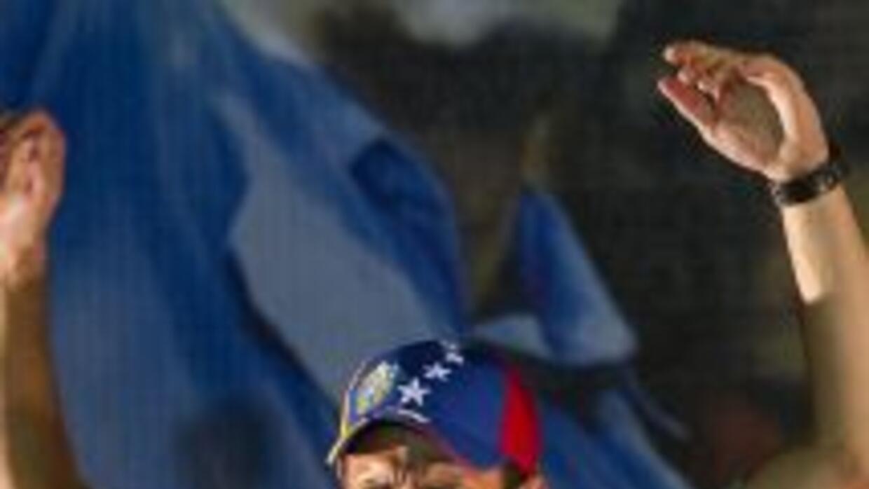 Henrique Capriles, candidato de la oposición a la presidencia de Venezuela.