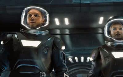 Jennifer Lawrence y Chris Pratt son 'Passengers'
