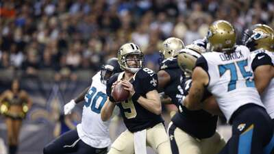Saints 38-27 Jaguars: Brees terminó de manera decorosa su temporada como...