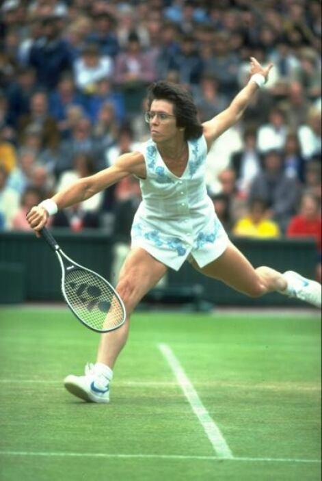 Billie Jean King ganó 12 torneos de Grand Slam entre 1966 y 1975.