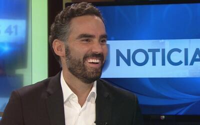 Noticias 41 le da la bienvenida en San Antonio al presentador de Noticie...