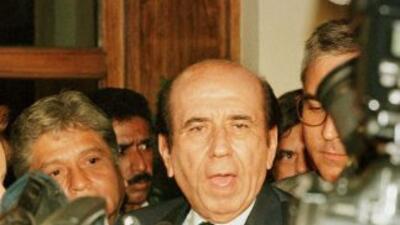 Carlos Andrés Pérez, ex presidente de Venezuela y figura de la política...