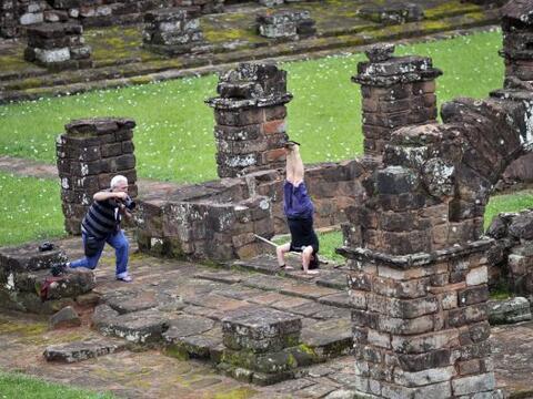 En Paraguay los vestigios de la orden de misioneros jesuitas que lleg&oa...