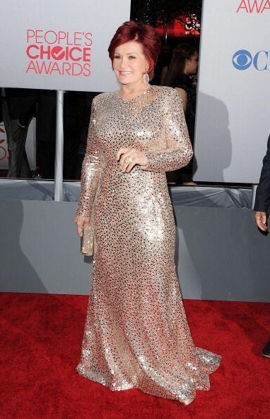 Sharon Osbourne nos dejó un poco pensativos en 2012 con su vestid...