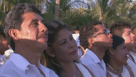 ¿Te casarías en una boda masiva? Así fue la ceremonia de matrimonio de 2...