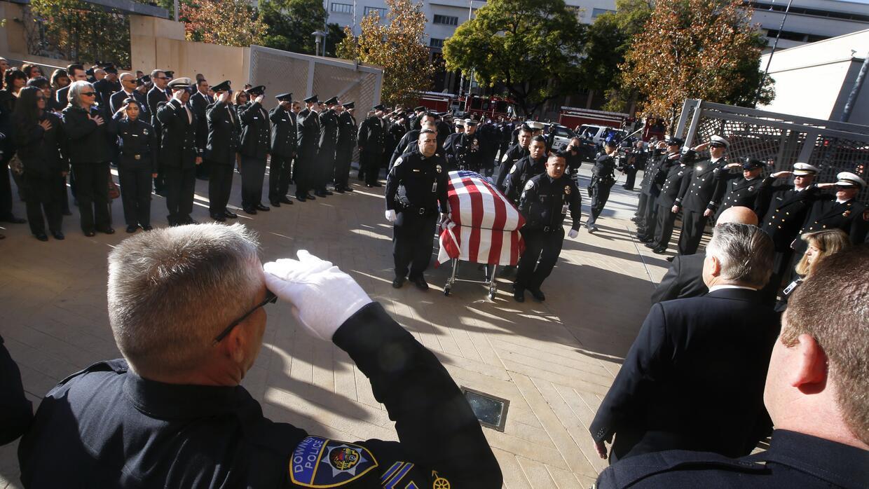 Colegas rinden tributo a Ricardo Gálvez, asesinado el 18 de noviembre.