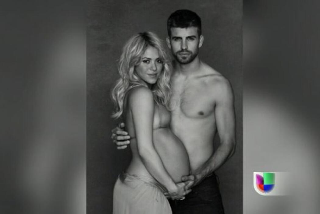 Por compartir el nacimiento de su bebé Milan en las redes sociales, Shak...