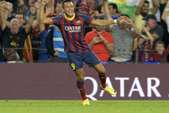 Gran gol del chileno que confirma su adaptación al juego del Barcelona.