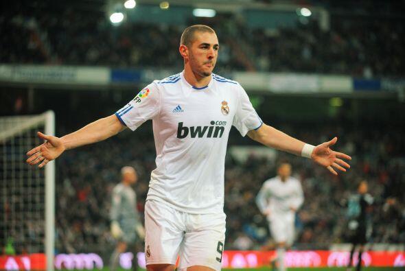 Todo el Bernabéu alabó el tanto del también atacant...