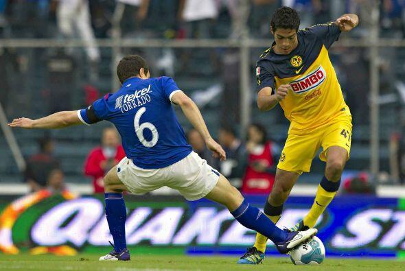 Raúl comenzó su andar por las canchas con el Cruz Azul,  e...