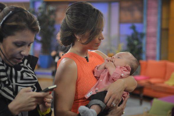 Sin duda, Satcha será una excelente madre, pues sabe lo que quier...
