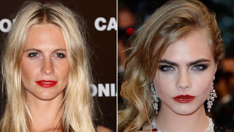 La modelo reveló que el diseño de cejas de su hermana le encanta.