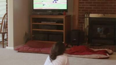La televisión es un mal sustituto de 'niñera' para sus hijos