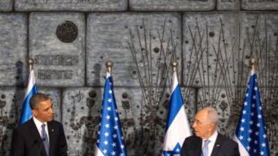 Obama reitera alianza de EEUU con Israel contra armas nucleares.