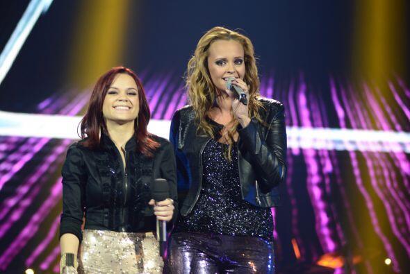 Juntas, interpretaron el nuevo sencillo de Shaila.