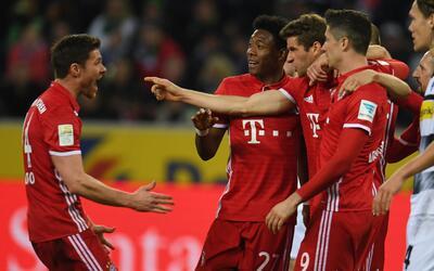 En esta temporada Bayern Múnich cuenta con 13 puntos de ventaja s...