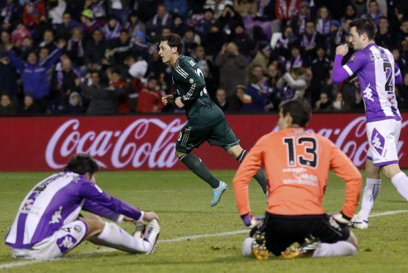 El 'Maguito' del Real Madrid está mejorando su juego con los 'merengues'...