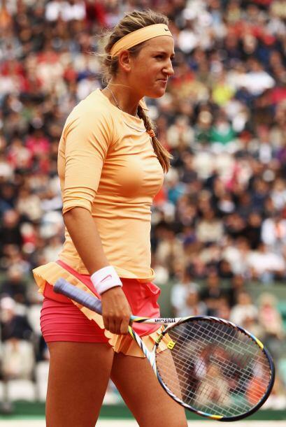 La número uno del mundo y primera sembrada de Roland Garros, Victoria Az...