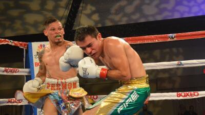 Orlando Cruz dominó a Rómulo Koasicha